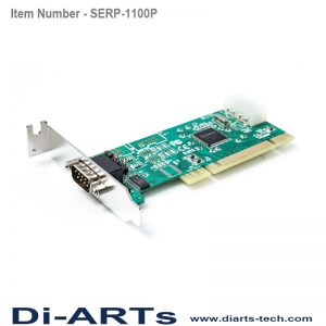 Serial RS232 1 port PCI Card SERP-1100P