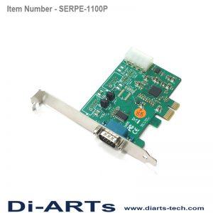 pcie 1 port rs232 com port serial card
