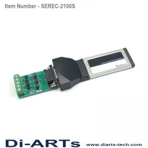 laptop expresscard 1 port rS485 RS422