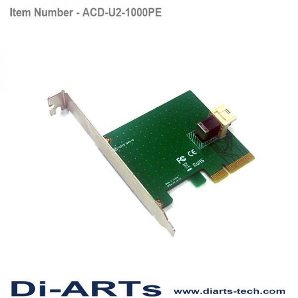 U.2 PCIe Card