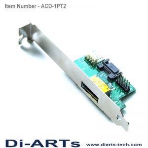 eSATAp USB Adapter Card