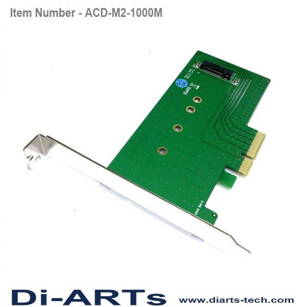 NVMe M key M.2 PCIe Card