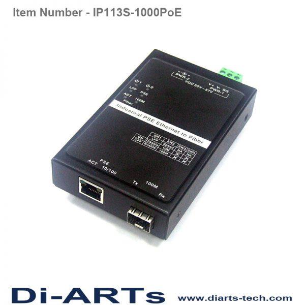 ethernet to SFP Fiber Converter POE PSE IP113S-1000PoE