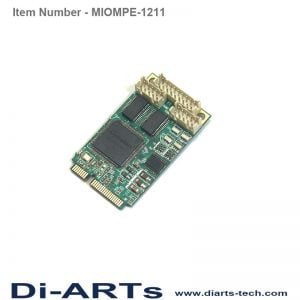 2 port rs232 1 port Parallel Mini PCIe card MIOMPE-1211