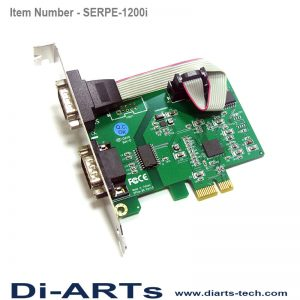 Serial RS232 Isolation PCIe Card
