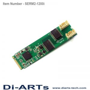 serial rs232 m2 isolation