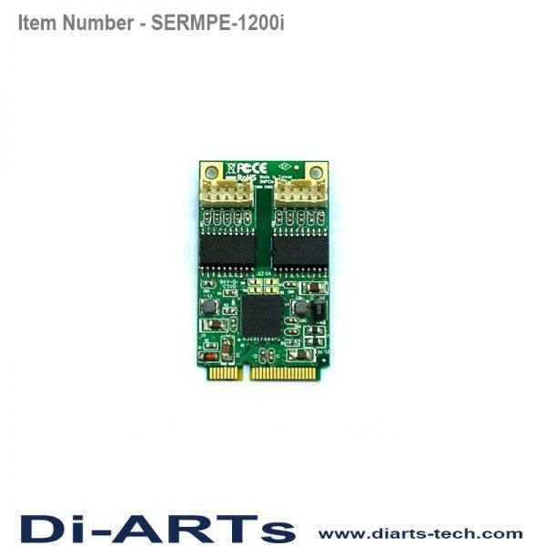 mini pcie rs232 com port serial card 2.5kv isoaltion