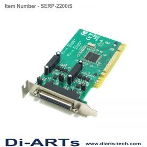 2 port RS422 RS485 PCI Isolation Surge