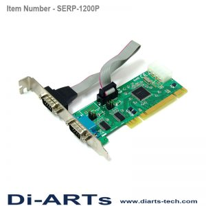 PCI 2 port RS232 Serial Card Com port