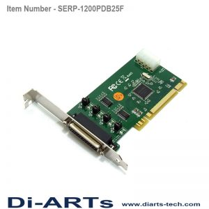 PCI 2 port Serial Card RS232 Com port