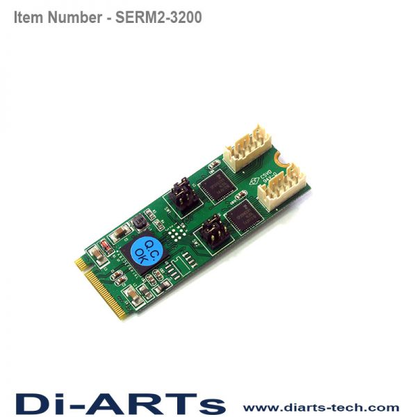RS232 RS485 RS422 M2 card