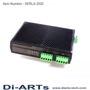 rs485 rs422 2 port device server over LAN isolation SERLA-2020i