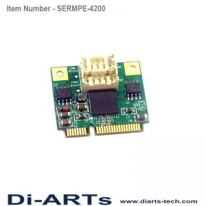 mini pcie rs485 com port serial card