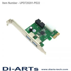 USB 3.0 Internal USB PCIe Card