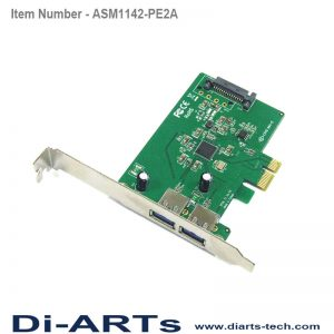 PCIe USB-C USB-A USB 3.1 Gen 2 10G Card