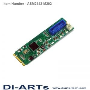 2 port Internal USB 3.1 Gen2 10G M.2 Card ASM2142-M202