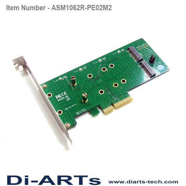 M.2 B key SATA SSD hardware raid 0 1 pcie card