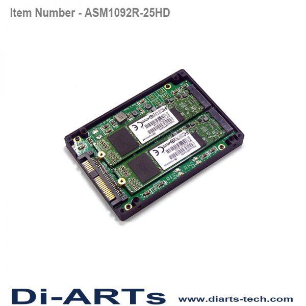 "2.5"" SATA HDD adapter hdardware raid 0 1"
