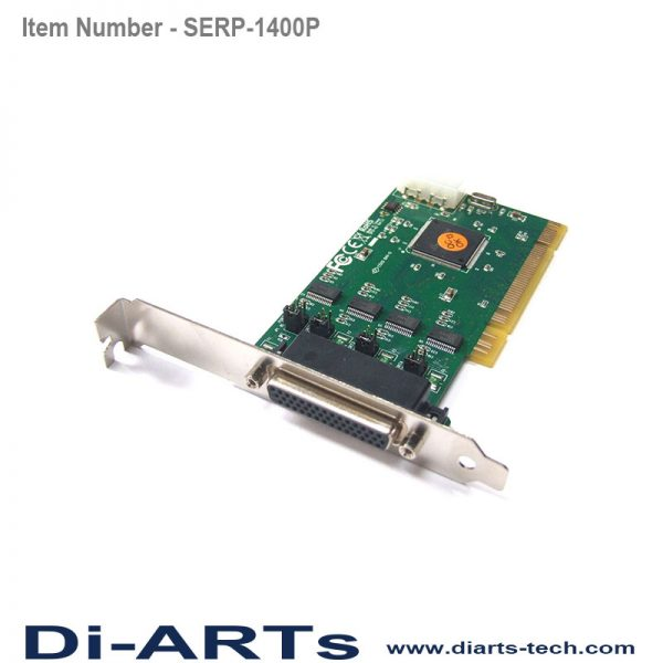 4 port RS232 PCI Serial Card COM Port
