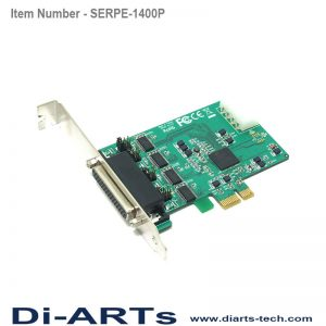 pcie 4 port rs232 com port serial card