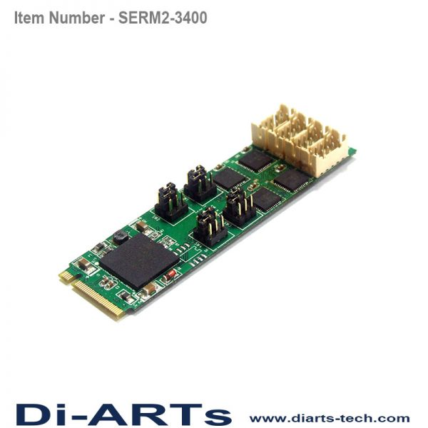 rs232 rs485 rs422 4 port M2 card