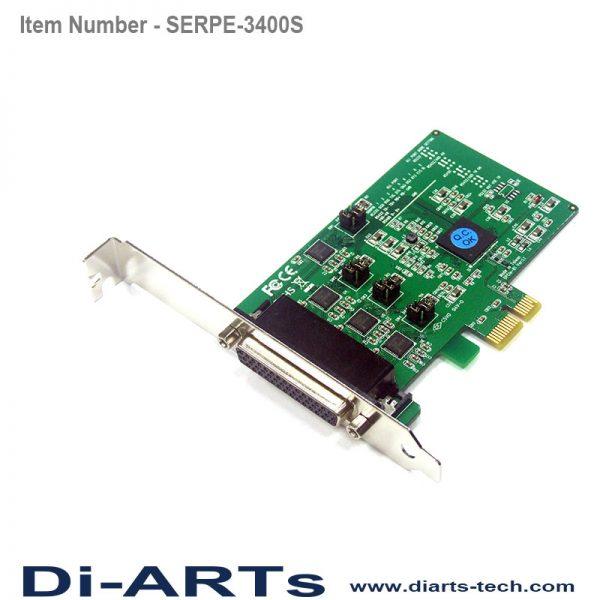 pcie rs485 RS422 RS232 4 port com port serial card