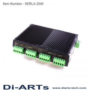 4 port RS422 RS485 device server Isolation SERLA-2040i