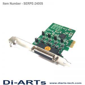 pcie rs485 rs422 4 port com port serial card