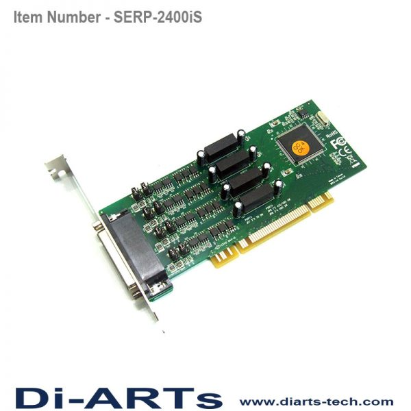 4 port RS485 RS422 PCI Card Isolation Surge ESE