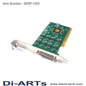 industrial 8 port RS232 com port serial card PCI