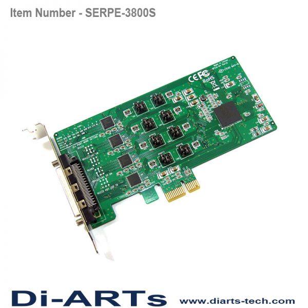 pcie rs485 rs232 rs422 8 port com port serial card