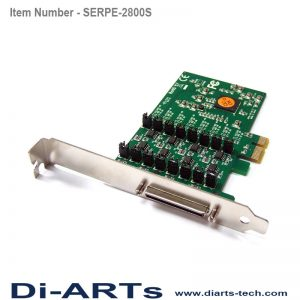 pcie RS485 RS422 8 port com port serial card