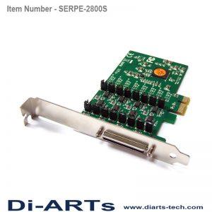 pcie RS485 RS422 8 port com port serial card