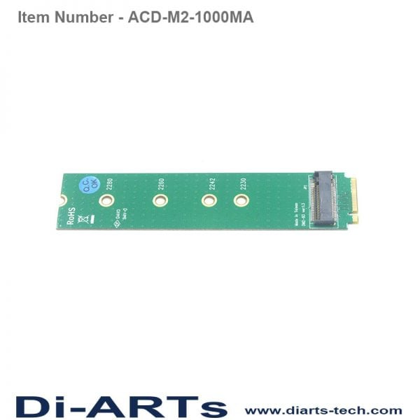 M2 adapter A key to M key ACD-M2-1000MA
