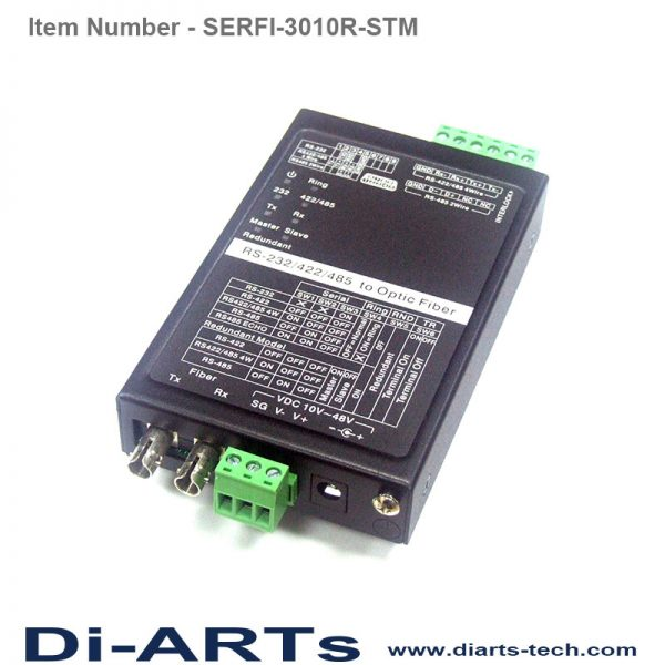 rs232 rs485 rs422 to Fiber ST mode SERFI-3010R-STM