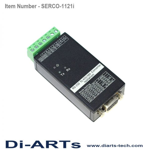 RS485 RS422 to RS232 Converter Isolation