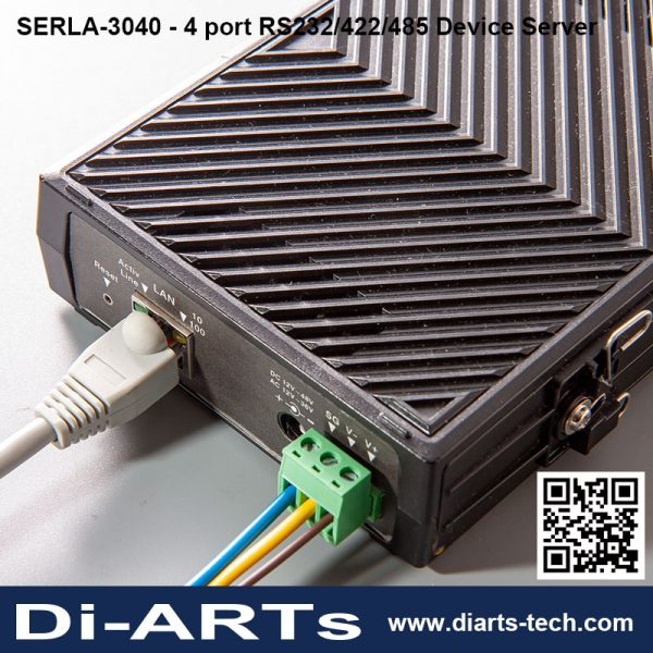 Serial RS232 RS422 RS485 Device Server