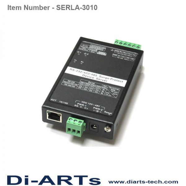 RS232 RS422 RS485 serial device server over IP industrial SERLA-3010