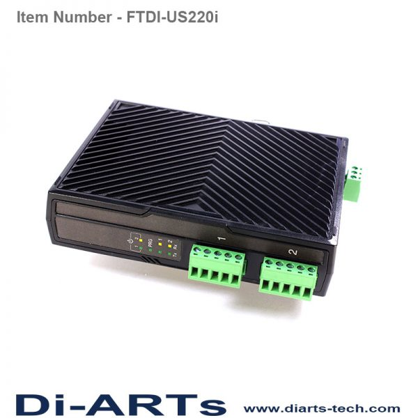 USB 2 port RS422 RS485 isolation adapter FTDI-US220i