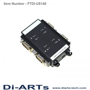 FTDI USB RS232 adapter FTDI-US140
