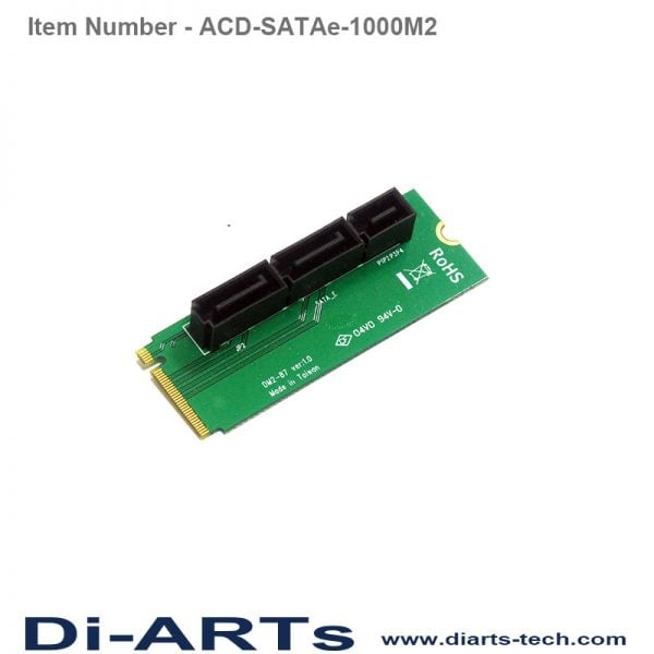 satae M2 adapter card ACD-SATAe-1000M2