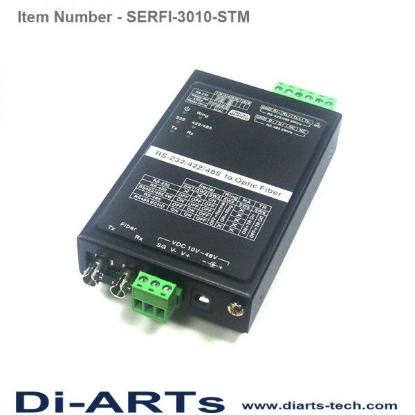 rs232 rs485 rs422 to fiber st converter SERFI-3010-STM