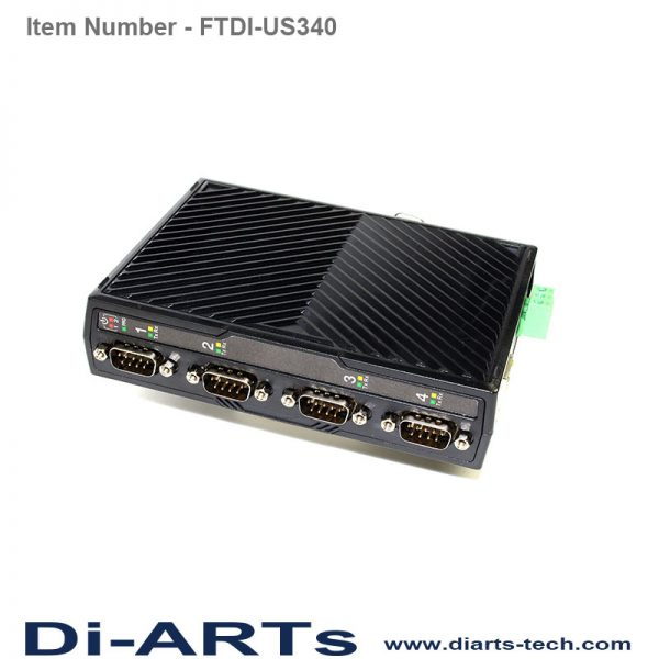 4 port RS232 RS422 RS485 adapter FTDI-US340