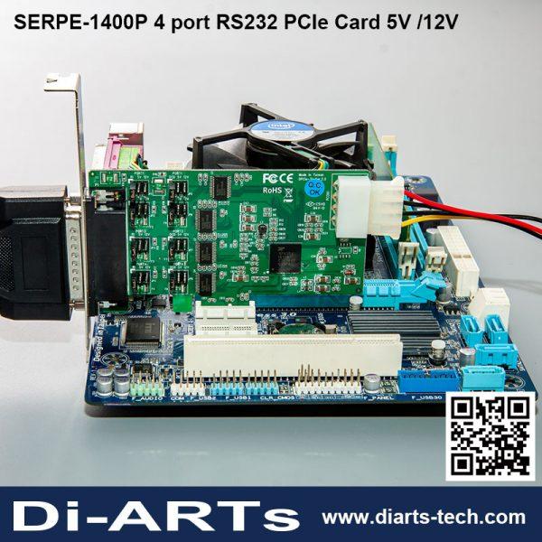 2 4 8 16 port RS232/422/485 addon card