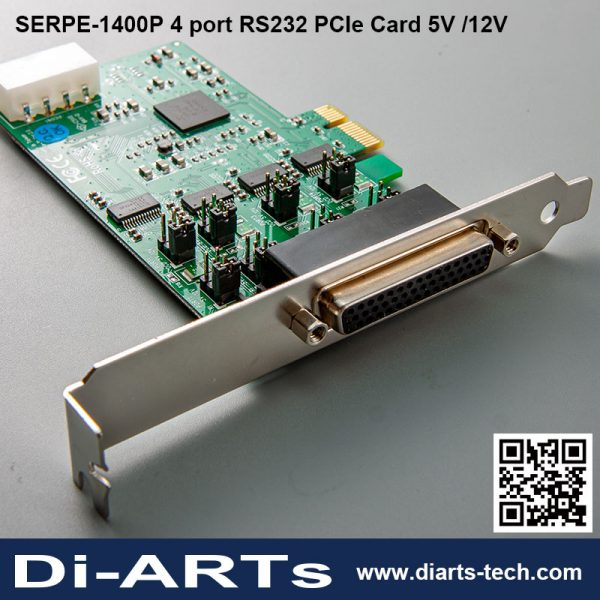 4 port RS232 RS422 RS485