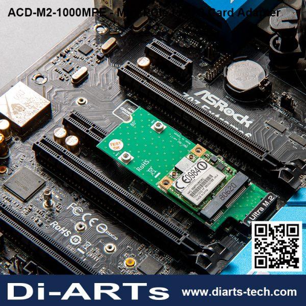 MIni PCI Express to B / M Key M.2 Card