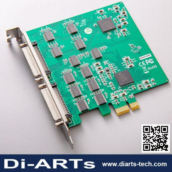 8 port 16 port RS232 PCIe Card