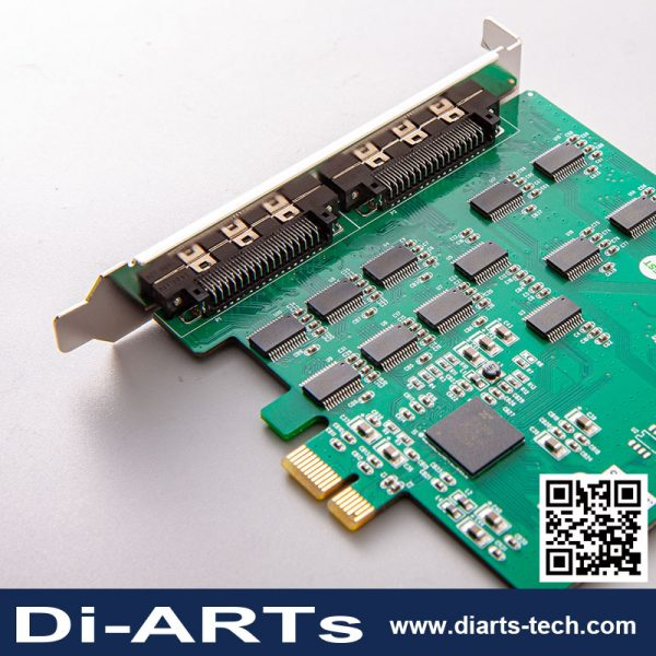 16 port RS232 PCIe card