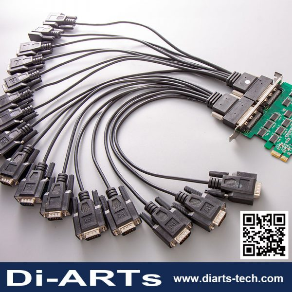 Serial RS-232 Addon Card