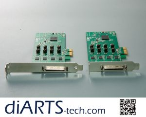 DB9 Serial COM 2 in 1 RS232 RS422 RS485 card